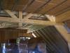 Laine de bois toit